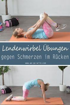 Du hast oft Schmerzen im unteren Rücken? Diese Lendenwirbel Übungen helfen dir deinen Rücken und die Lendenwirbelsäule zu stärken. So haben Verspannungen und Hexenschuss keine Chance mehr.