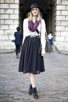 London street fashion, minus the hat plus a few little changes