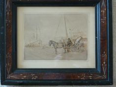 Meeting The Boats - Foxhouse Fine Art | Selected Works of Art, Ceramics & Glass, Jewellery & Pictures