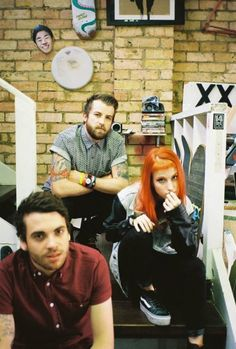 ok let's make something clear here. paramore is not just Hayley Williams it is a fucking band there is 2 other fucking members. paramore also is not pop so shut the fuck up and stop complaining, they are fucking amazing.