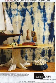 Hand Dyed Fabric - Can anybody tell me what dye technique might have been used to achieve this effect?