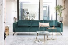 banking woonkamer Pick of the week: Smooth Forest bank van Bodilson Cozy Living Rooms, Apartment Living, Diy Room Divider, Interior Decorating, Interior Design, Blue Rooms, Living Room Inspiration, Interior Inspiration, Diy Home Decor