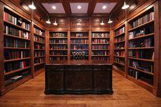 Custom library Custom Cabinetry, Bookcase, Design, Home Decor, Custom Closets, Decoration Home, Made To Measure Wardrobes, Room Decor, Interior Design
