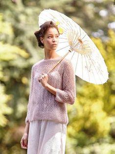 Вязание Rowan Knitting, Rowan Yarn, Lace Knitting, Knit Crochet, Ibaraki, Angora, Crochet Magazine, Summer Knitting, Mohair Sweater