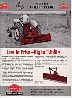 FORD DEARBORN Utility Blade Ad