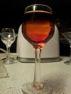 Jager  Orange vodka  Grenadine