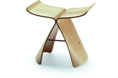 Butterfly Stool natural maple