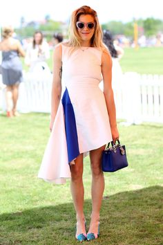 Chelsea Leyland in Dior | The Best Summer Style at the Veuve Clicquot Polo Classic