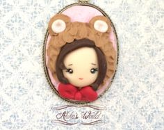 A tiny #chibi avaible on #Etsy in a #bear #cosplay :3 #kawaii ! Only 10€ ! You can also order your very own creation or just a #custom version of an already existing one #EtsyCustom **************************************** Get 10% #OFF with the #promo #code 2016SALES . #soldes #sales ****************************************