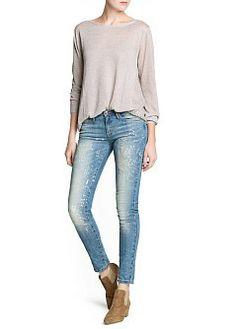 MANGO - ABBIGLIAMENTO - Cardigan e pullover - Pullover schiena punto aperto
