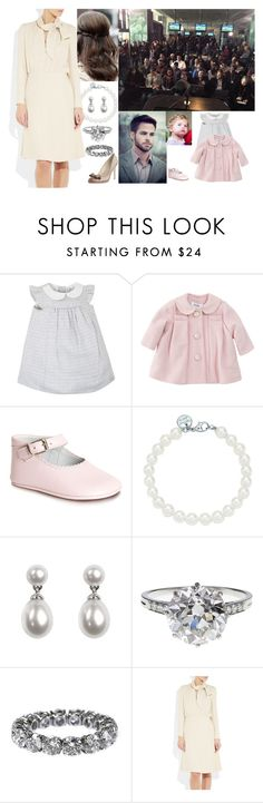 """Holding a press conference and asking that Lilian be left alone when in her private life"" by hanaofbelgium ❤ liked on Polyvore featuring Baby Dior, Tiffany & Co., Aspinal of London, Boucheron and L.K.Bennett"