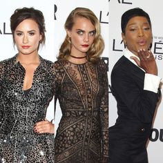 Demi Lovato, Keke Palmer and Cara Delevingne Hit The Red Carpet For Glamour's Woman of the Year Awards - http://oceanup.com/2016/11/15/demi-lovato-keke-palmer-and-cara-delevingne-hit-the-red-carpet-for-glamours-woman-of-the-year-awards/