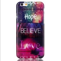 Hope, Believe, Hope iPhone 6 / iPhone 6s case Silicone phone case for the iPhone 6 or iPhone 6s - hope, believe and hope again. Definitely something one wants with them. Entropy Accessories Phone Cases