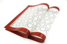 Taousa 70397 Silicone Baking Mat set, Non-stick Cookie Sheet, Oven and Microwave Safe, Pack of 2 >>> For more information, visit : Baking Accessories