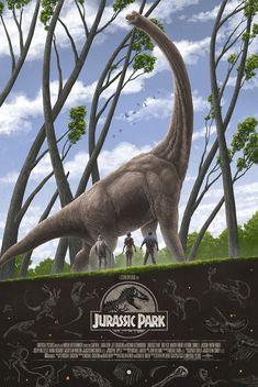 Jurassic Park by Marko Manev - Home of the Alternative Movie Poster -AMP- Jurassic Park Trilogy, Jurassic Park Poster, Jurassic Park 1993, Jurassic Park World, Science Fiction, Parc A Theme, Jurassic World Dinosaurs, Dinosaurs Alive, Michael Crichton