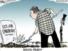 solar farm political cartoons | Solar Energy: Ready For Alice In Wonderland