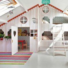 a bunk house..