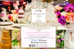 Ultimate Wedding Giveaway sponsored by @theknot. Win what you need for your wedding at the Bridal Extravaganza of Atlanta on Jan 25th! www.beabride.net #beabride #bridalextravaganza