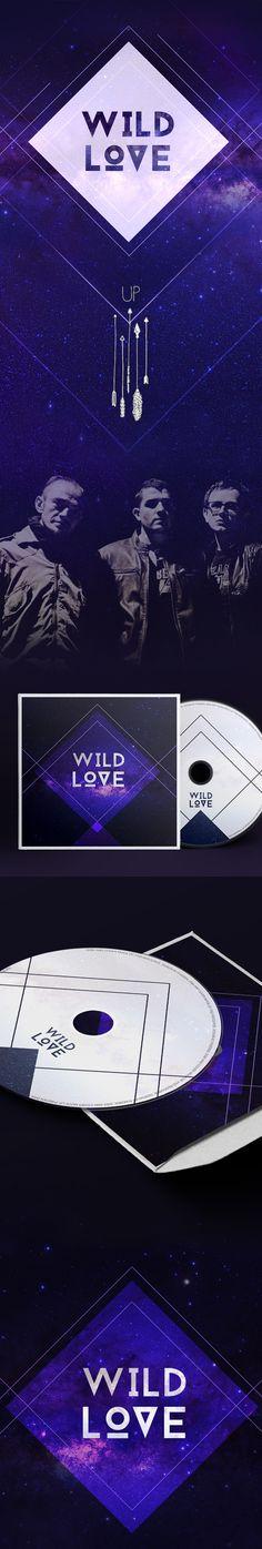 Wild Love Album Cover Design For UP on Behance
