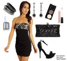 The perfect Little Black Dress! I want to be able to rock this!!!
