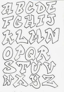 Graffiti Alphabet, Cool Alphabet Letters, Graffiti Designs, Graffiti Drawing, Graffiti Styles, Graffiti Lettering, Cool Graffiti Letters, Pretty Cursive Fonts, Cursive Fonts Alphabet