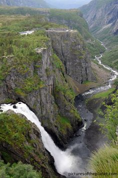 Voringsfossen Waterfall | Pictures of the Planet