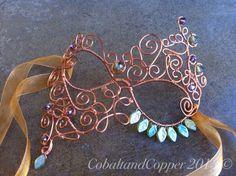 Máscara de la mascarada de alambre de cobre por CobaltandCopper