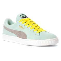 I would like white laces but otherwise I leant them PUMA Suede Classic + Sneaker | Women's - Aqua/Grey