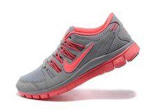 Womens - Nike Free Run 5.0 Wolf Grey Bright