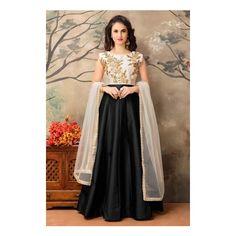 0 Bridal Anarkali Suits, Salwar Kameez, Stuff To Buy, Color, Shopping, Collection, Black, Design, Women