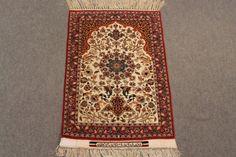Antique Isfahan Serafian rug