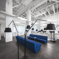 Office design for Blue Communications, Montreal, Canada - http://www.adelto.co.uk/office-design-for-blue-communications-montreal-canada