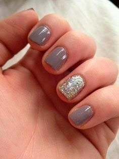 best short nail designs 2015