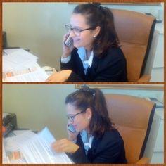 Gloria mitica receptionist