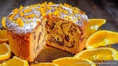 "Tahini Orange Chocolate Marble Cake - a moist scrumptious cake with a buttery tender crumb, but with ""no"" butter and only a fraction of saturated fat!"
