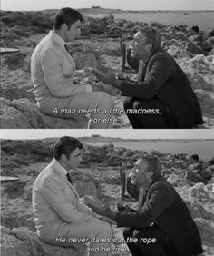Nikos Kazantzakis - Zorba the Greek Tv Quotes, Movie Quotes, Seven Years In Tibet, Gorillas In The Mist, Zorba The Greek, American History X, Fitzgerald Quotes, Good Will Hunting, Movie Dialogues