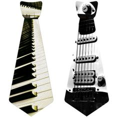 Musical Instrument Tie Set, $12, now featured on Fab.