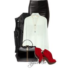 """Alaa."" by stylisheve on Polyvore  How to wear ankle-boots"