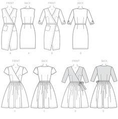 Patron Mc Call's 7185 : Patrons de couture