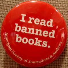 I read banned books - ThingLink Interactive Image.