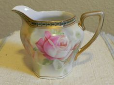 German Johann Seltmann Porcelain Creamer by DawnStitch on Etsy, $30.00