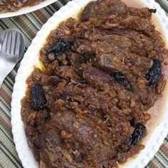 Croatian food-Pašticada