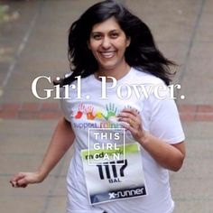 Make your very own online poster, whether you're running a mile or a marathon! Just use your mobile or tablet to get started. This Girl Can, I Can Do It, Running A Mile, These Girls, Get Started, Marathon, Exercise, Make It Yourself, Celebrities