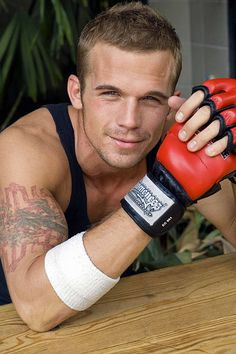 Cam Gigandet... my christian grey<3  he is so delicious as a bad boy in never back down like i want to jump all over that!! wow