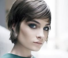 LOVE Amelia Pool's razored bob/ grown-out pixie in this one. More hairspiration.