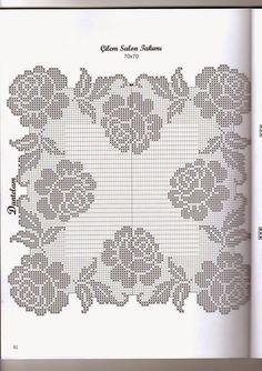 knitting pattern, knitting for beginners, knitting models, knitting models of 2020 Filet Crochet Charts, Crochet Doily Patterns, Crochet Diagram, Crochet Art, Crochet Home, Thread Crochet, Crochet Motif, Crochet Designs, Crochet Doilies