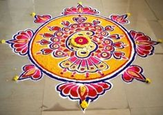 Deepavali Rangoli Designs Photos | Wallpaper