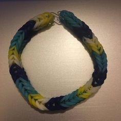 Rainbow Loom Bracelets Easy, Rainbow Loom Bands, Monster Tail, Rainbow Loom Patterns, Fishtail, Latex Free, Bracelet Sizes, Friendship Bracelets, Color Schemes