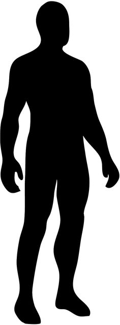 human silhouette vector google search 1950 s anatomy rh pinterest com human silhouette vector sitting human silhouette vector png