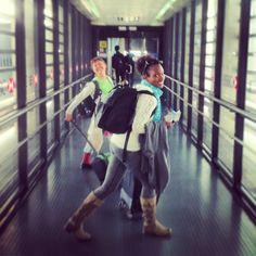 #airport smiles #unrollAYT